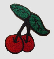 S cherry medium patch