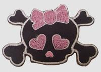 S cute skull pink
