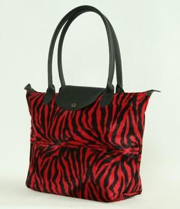 Zebra red design bag