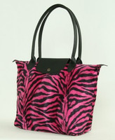 Zebra pink design bag