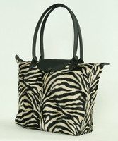 Zebra brown design bag