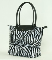 Zebra white design bag