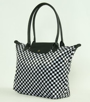 Check black-white design bag Bag