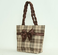 Scotch brown bow design bag Bag