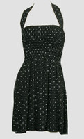 Front EB star dot elastic dress