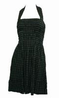 Front EB classic grey elastic dress