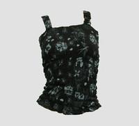 Front - E diva black-grey top elastic top