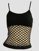 Front - Big black top net top