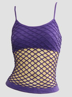 Front - Big purple top net top