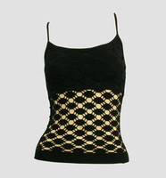 Front - Fish black top net top