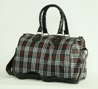 Scotch black large bowling bag