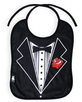 SB tux six bunnies bib