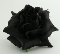 L rose black big flower