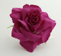 L rose purple big flower
