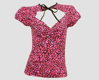 Front - OIF leopard pink classic top pin up