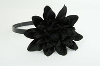 L dalia black big summer flower