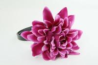 L dalia purple big summer flower