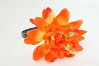 L dalia orange big summer flower
