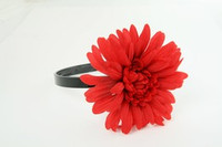 M daisy red medium summer flower