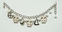 Skull empty cream skull bracelet