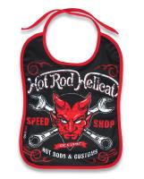 HRHC devil hotrod hellcat bib