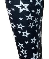 S star black spandex legging