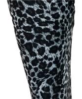 S leopard gray spandex legging