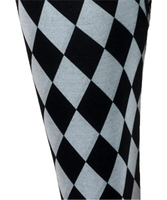 S check spandex legging