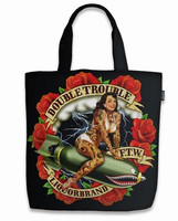 Double trouble tote bag liquorbrand