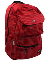 Dots small red mix rucksack