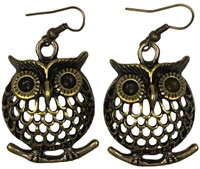 Fat owls CP animal pendant