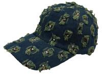Volcano green cap headwear