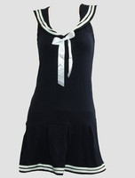 Front - Dress u navy sailor dress
