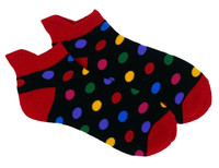 Disco light dots socks