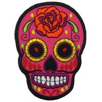 Pink skull - ancient aztec extra