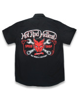 Devil hotrod hellcat worker shirt