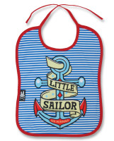 Little sailor six bunnies bib