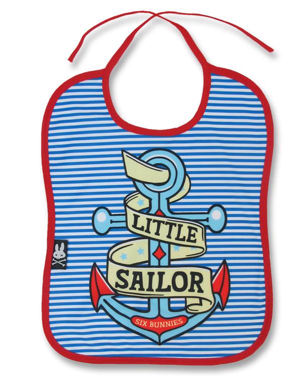 Little sailor six bunnies bib
