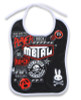 Metalfan six bunnies bib