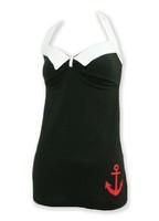 Front - LO anchor navy black