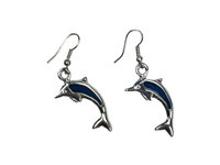 Dolphin blue silver