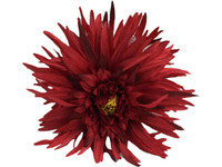 Reddaisy double hair flower clips