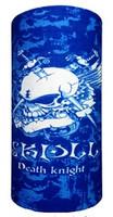 Skull death knight on aqua