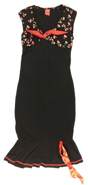 Front  dress layer cherries marilyn dress