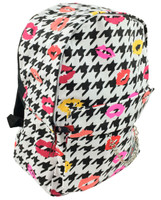 Color kisses on white mix rucksack