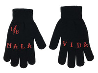 Black and red mala bida gloves liquorbrand