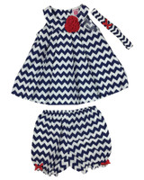 Baby kid set - dizzy stripes