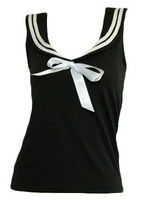 Front - TS u black top sailor top