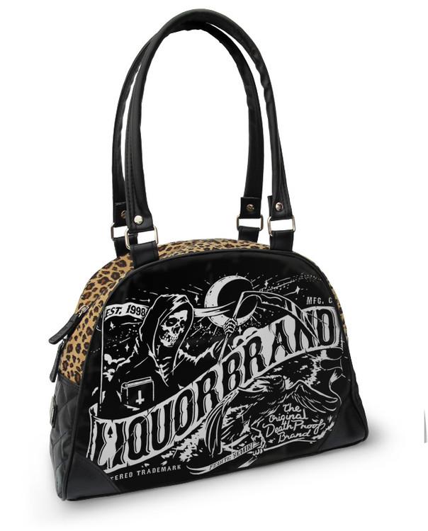 Death banner bowling bag LiquorBrand