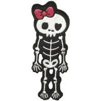 Skeleton Pink skull extra big